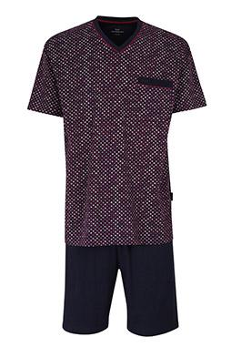 Homewear, Pijama M. Corta, 110853, ROJO