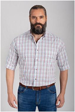Camisas, Sport Manga Corta, 110855, BLANCO