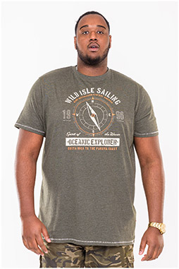 Sport, Camisetas M. Corta, 110864, KAKI