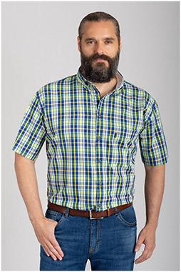 Camisas, Sport Manga Corta, 110872, VERDE