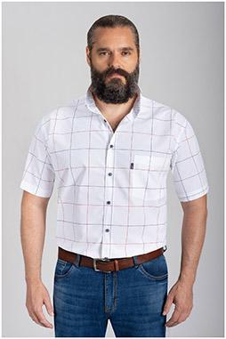 Camisas, Sport Manga Corta, 110878, BLANCO