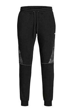 Pantalones, Chandal, 110898, NEGRO