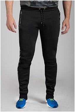 Pantalones, Chandal, 111011, NEGRO