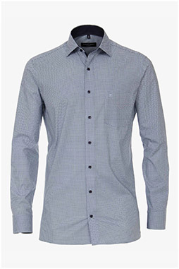 Camisas, Vestir Manga Larga, 111015, CELESTE
