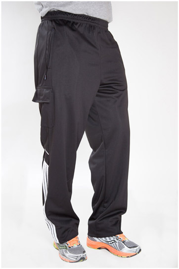 Pantalones, Chandal, 101680, NEGRO