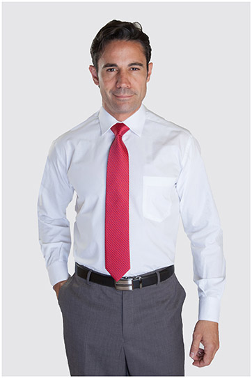 Camisas, Vestir Manga Larga, 102522, BLANCO