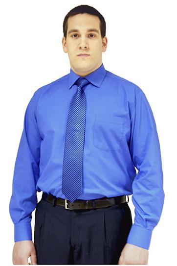 Camisas, Vestir Manga Larga, 102522, TINTA