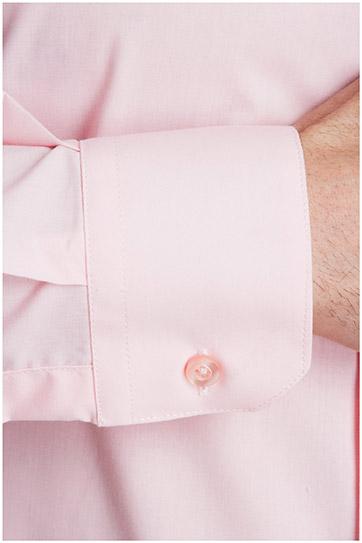 Camisas, Vestir Manga Larga, 102522, ROSA