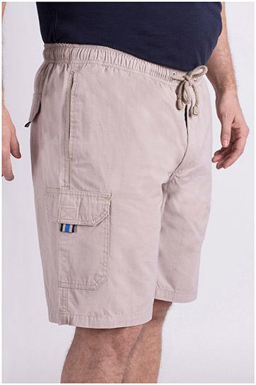 Pantalones, Bermudas, 102540, BEIGE