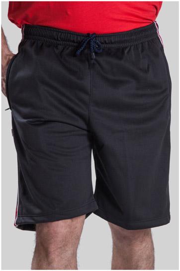 Pantalones, Bermudas, 102579, NEGRO