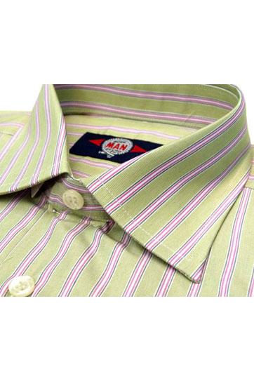 Camisas, Vestir Manga Larga, 103031, VERDE