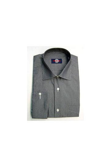 Camisas, Vestir Manga Larga, 103675, NEGRO
