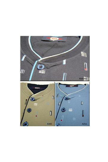 Homewear, Pijama M. Corta, 103683, KAKI