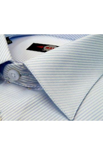 Camisas, Vestir Manga Larga, 103999, CELESTE