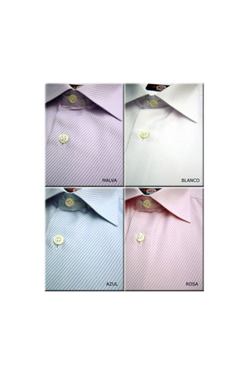 Camisas, Vestir Manga Larga, 103999, MALVA