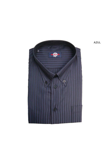 Camisas, Sport Manga Larga, 104189, AZUL