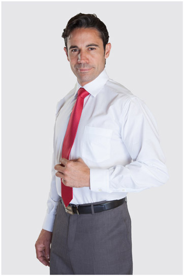 Camisas, Vestir Manga Larga, 104226, BLANCO