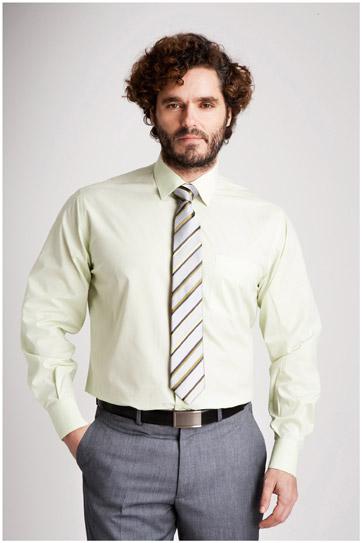 Camisas, Vestir Manga Larga, 104226, MANZANA