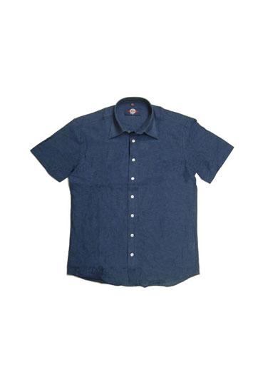 Camisas, Sport Manga Corta, 104355, MARINO