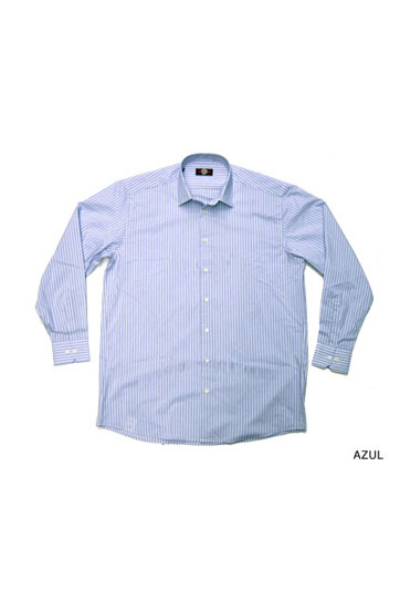 Camisas, Vestir Manga Larga, 104375, AZUL