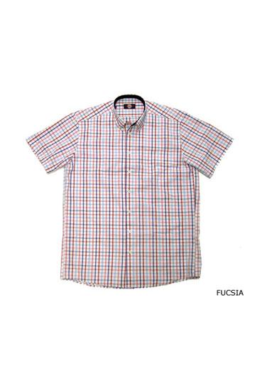 Camisas, Sport Manga Corta, 104377, FUCSIA