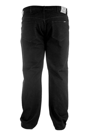 Pantalones, Vaqueros, 104544, NEGRO