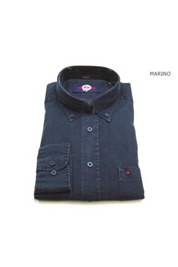 Camisas, Sport Manga Larga, 104650, MARINO