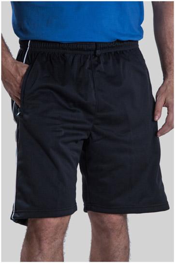 Pantalones, Bermudas, 104778, NEGRO