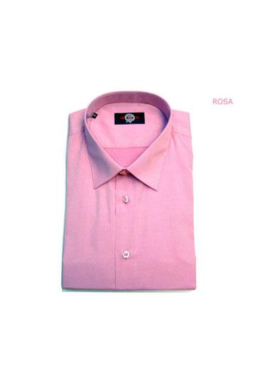 Camisas, Vestir Manga Larga, 104799, ROSA
