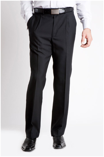 Pantalones, Vestir, 104991, NEGRO