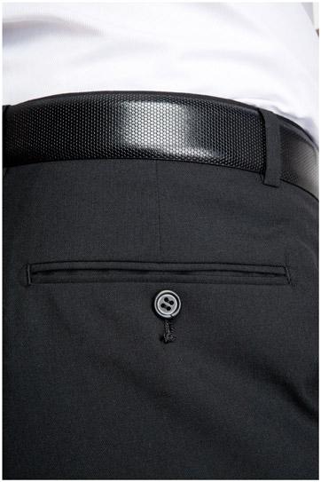 Pantalones, Vestir, 104993, NEGRO