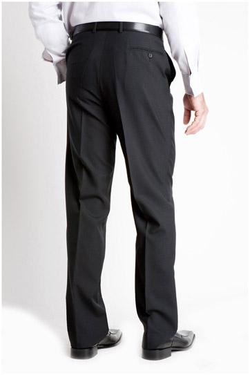 Pantalones, Vestir, 104994, NEGRO
