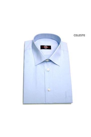 Camisas, Vestir Manga Larga, 105062, CELESTE