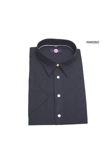 Camisas, Sport Manga Corta, 105087, MARINO