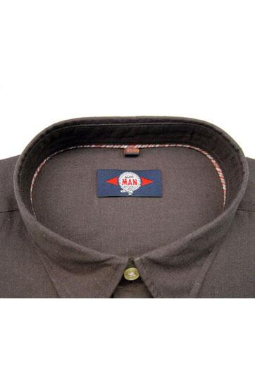 Camisas, Sport Manga Corta, 105087, MARRON