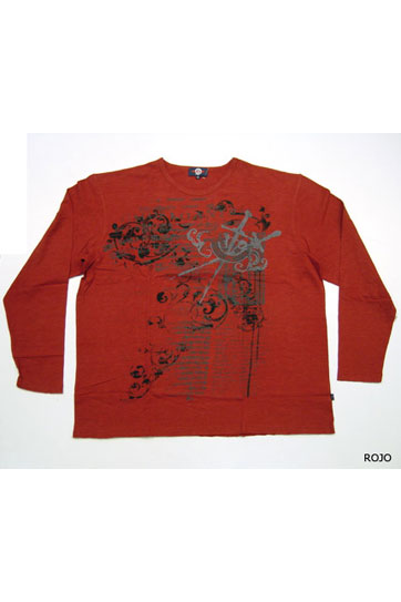 Sport, Camisetas M. Larga, 105153, ROJO