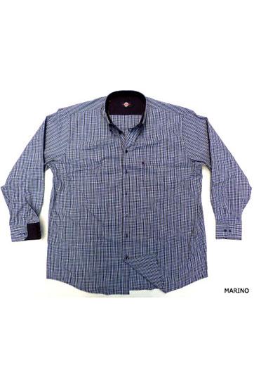 Camisas, Sport Manga Larga, 105352, MARINO
