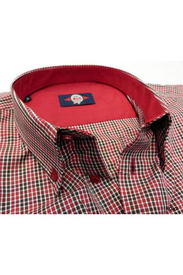 Camisas, Sport Manga Larga, 105352, GRANATE