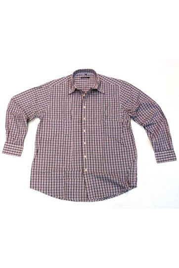 Camisas, Sport Manga Larga, 105397, GRANATE
