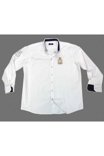 Camisas, Sport Manga Larga, 105488, BLANCO