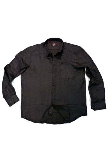 Camisas, Sport Manga Larga, 105489, NEGRO