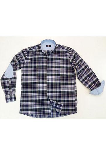 Camisas, Sport Manga Larga, 105646, MARINO