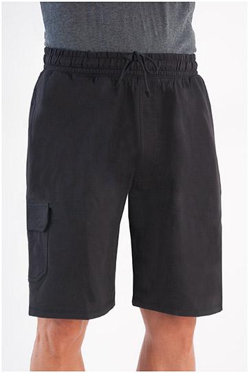 Pantalones, Bermudas, 105819, NEGRO