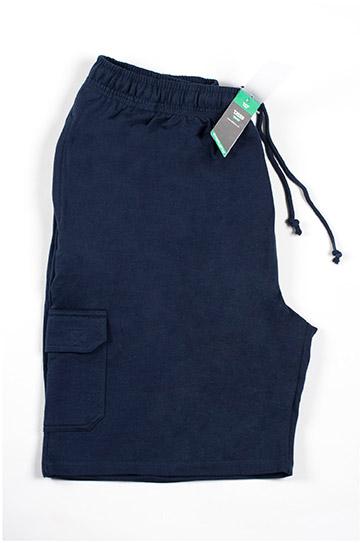 Pantalones, Bermudas, 105819, MARINO