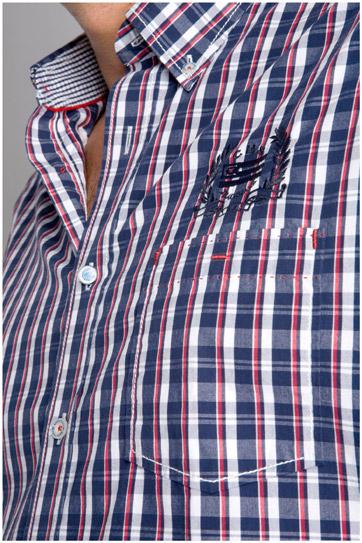 Camisas, Sport Manga Larga, 105993, MARINO