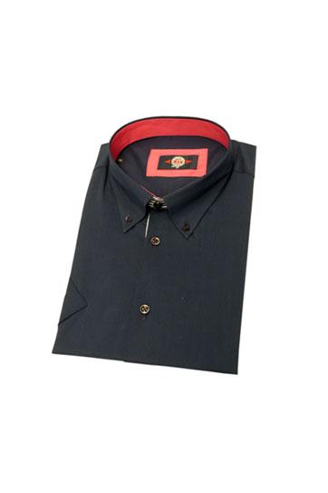 Camisas, Sport Manga Corta, 106014, MARINO