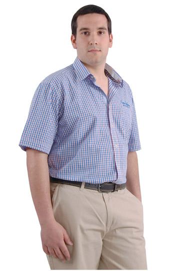Camisas, Sport Manga Corta, 106423, MARINO