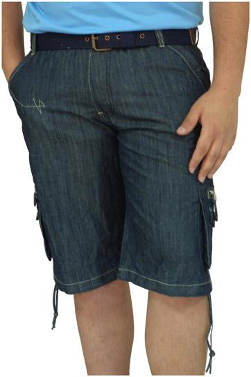 Pantalones, Bermudas, 106442, INDIGO