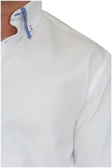 Camisas, Sport Manga Larga, 106490, BLANCO