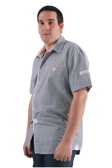 Camisas, Sport Manga Corta, 106547, NEGRO